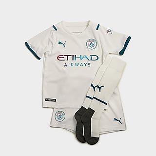 Puma Manchester City FC 2021/22 Away Kit Children