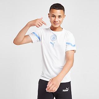 Puma Manchester City FC Pre Match Shirt Junior