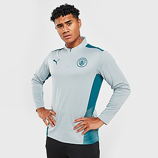 Puma Manchester City FC Quarter-Zip Training Top