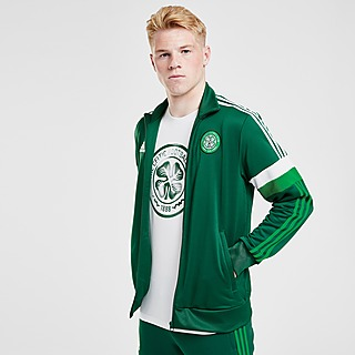 adidas Celtic FC 3-Stripes Track Top
