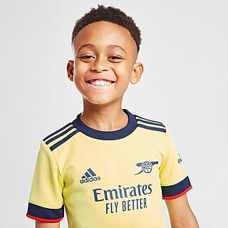 adidas Arsenal FC 2021 Away Kit Children