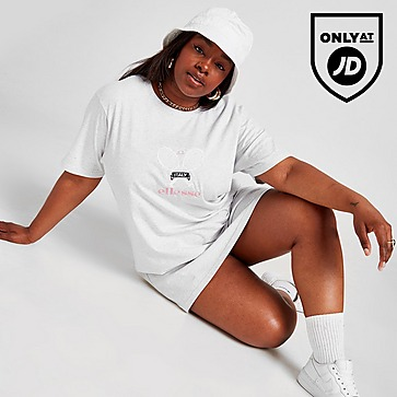 Ellesse Tennis Embroidered Plus Size T-Shirt Dress