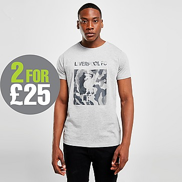Official Team Liverpool FC Crest T-Shirt