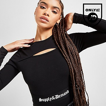 Supply & Demand Logo Long Sleeve Bodysuit
