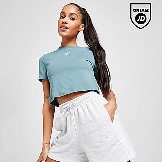 adidas Originals 3-Stripes Essential Boyfriend Shorts