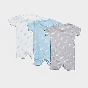 McKenzie 3-Pack Essential All Over Print Babygrow Infant
