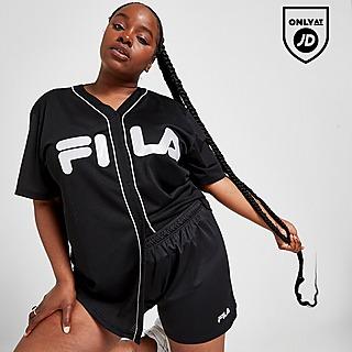 Fila Plus Size Poly Mesh Shorts