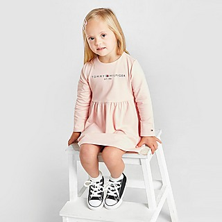 Tommy Hilfiger Girls' Essential Long Sleeve Dress Infant