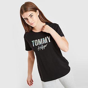 Tommy Hilfiger Girls' Script T-Shirt Junior