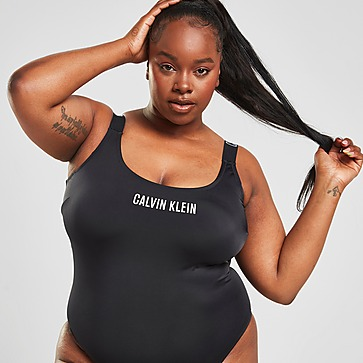 Calvin Klein Swim Plus Size Tape Swimsuit