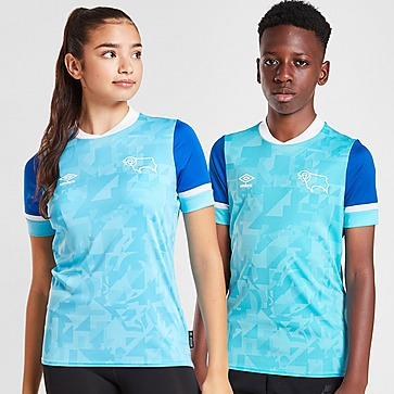 Umbro Derby County FC 2021/22 Away Shirt Junior