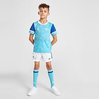 Umbro Derby County FC 2021/22 Away Kit Children