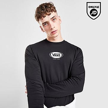 Vans Oval Logo Crew Sweatshirt