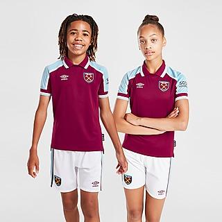 Umbro West Ham United FC 2021/22 Home Shirt Junior