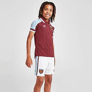 Umbro West Ham United FC 2021/22 Home Shorts Junior