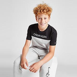 Calvin Klein Colour Block T-Shirt Junior