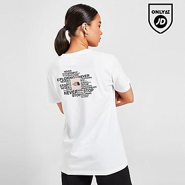 The North Face Wordmark Boyfriend T-Shirt
