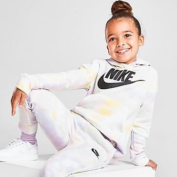 Nike Girls' Club Tie Dye Hoodie Children