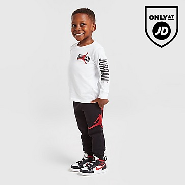 Jordan Long Sleeve T-Shirt/Joggers Set Infant