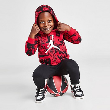 Jordan Essential All Over Print Hooded Tracksuit Infant