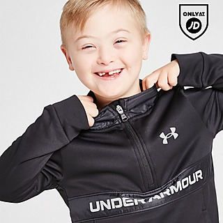 Under Armour UA Armour Fleece Max 1/4 Zip Tracksuit Children