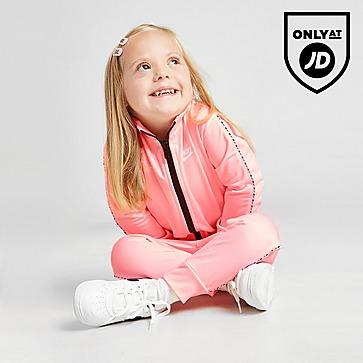 Nike Girls' Tape Poly Tracksuit Infant