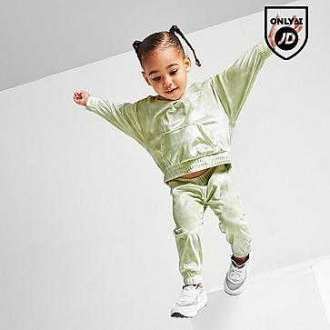 Nike Girls' Velour Overhead Tracksuit Infant