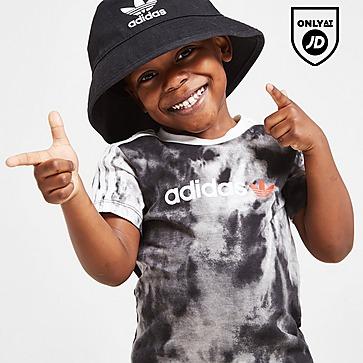 adidas Originals Tie Dye T-Shirt/Shorts Set Infant