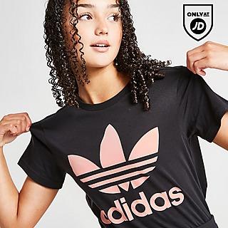 adidas Girls' Trefoil Boyfriend T-shirt Junior