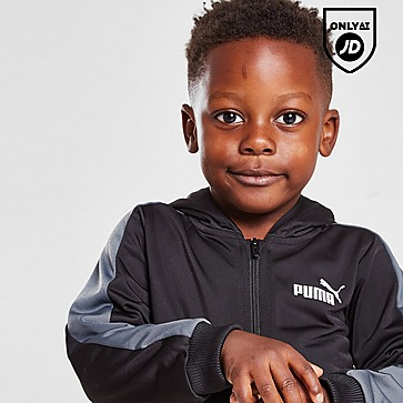 Puma Essential Poly Full Zip Tracksuit Infant