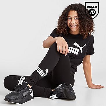 Puma Girls' Essentials Logo Leggings Junior