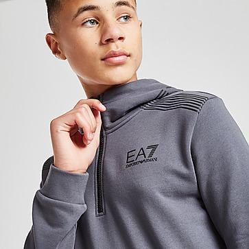 Emporio Armani EA7 7 Lines 1/4 Zip Hoodie Junior