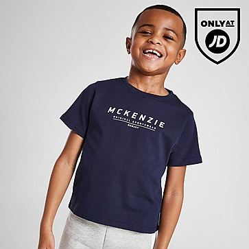 McKenzie Mini Essential Large Logo T-Shirt Children