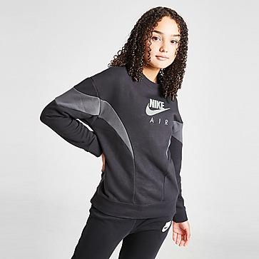 Nike Girls' Air Boyfriend Crew Sweatshirt Junior