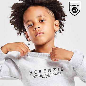 McKenzie Mini Essential Large Logo Crew Tracksuit Children