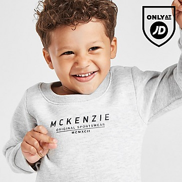 McKenzie Micro Essential Large Logo Crew Tracksuit Infant