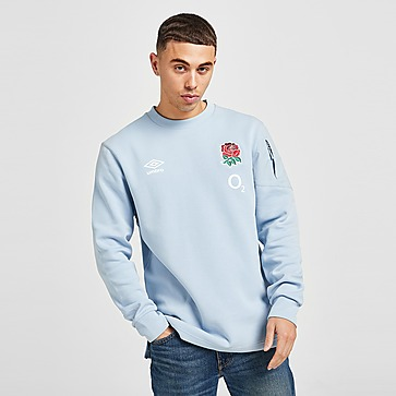 Umbro England RFU 2021 Travel Crew Sweatshirt