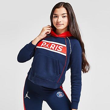 Jordan Girls' Paris Saint Germain Hoodie Junior