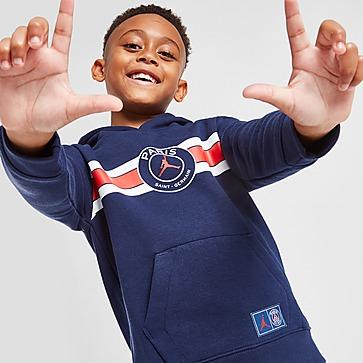Jordan Paris Saint Germain Colour Block Hoodie Children