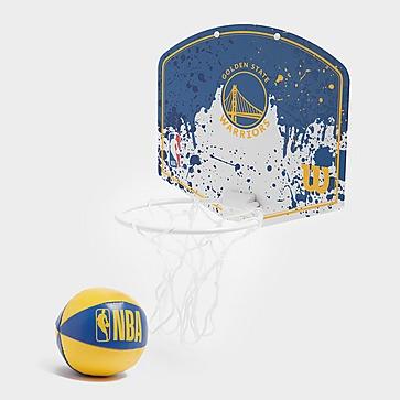 Wilson NBA Golden State Warriors Mini Hoop Set