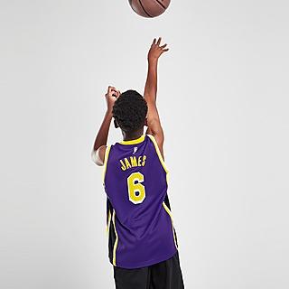Jordan NBA LA Lakers James #6 Jersey Junior