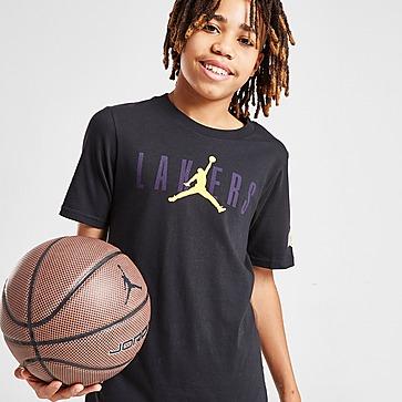 Jordan NBA LA Lakers Jumpman Logo T-Shirt Junior