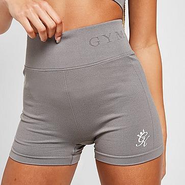 """Gym King Seamless Ribbed 3"""" Shorts"""
