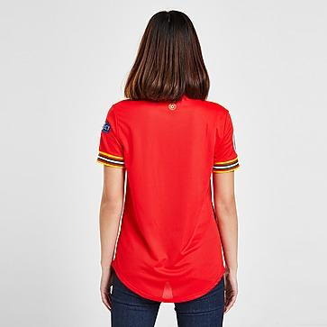 adidas Wales Euro 2020 Badged Home Shirt Women's