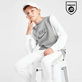 Nike Hybrid Fleece Crew Neck Sweatshirt Junior
