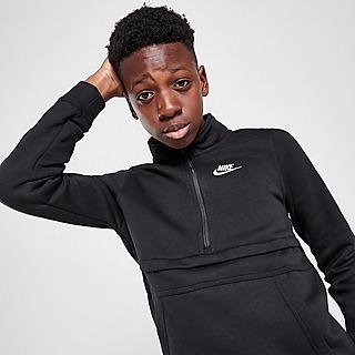 Nike Club 1/2 Zip Top Junior