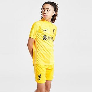 Nike Liverpool FC 2021/22 Away Goalkeeper Shorts Junior