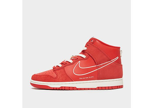 Nike Dunk High SE - Red - Mens