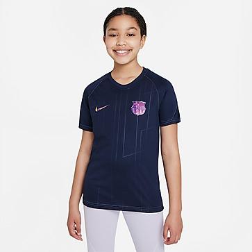 Nike FC Barcelona Pre-Match Top Junior