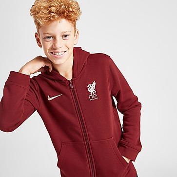 Nike Liverpool FC Full Zip Hoodie Junior